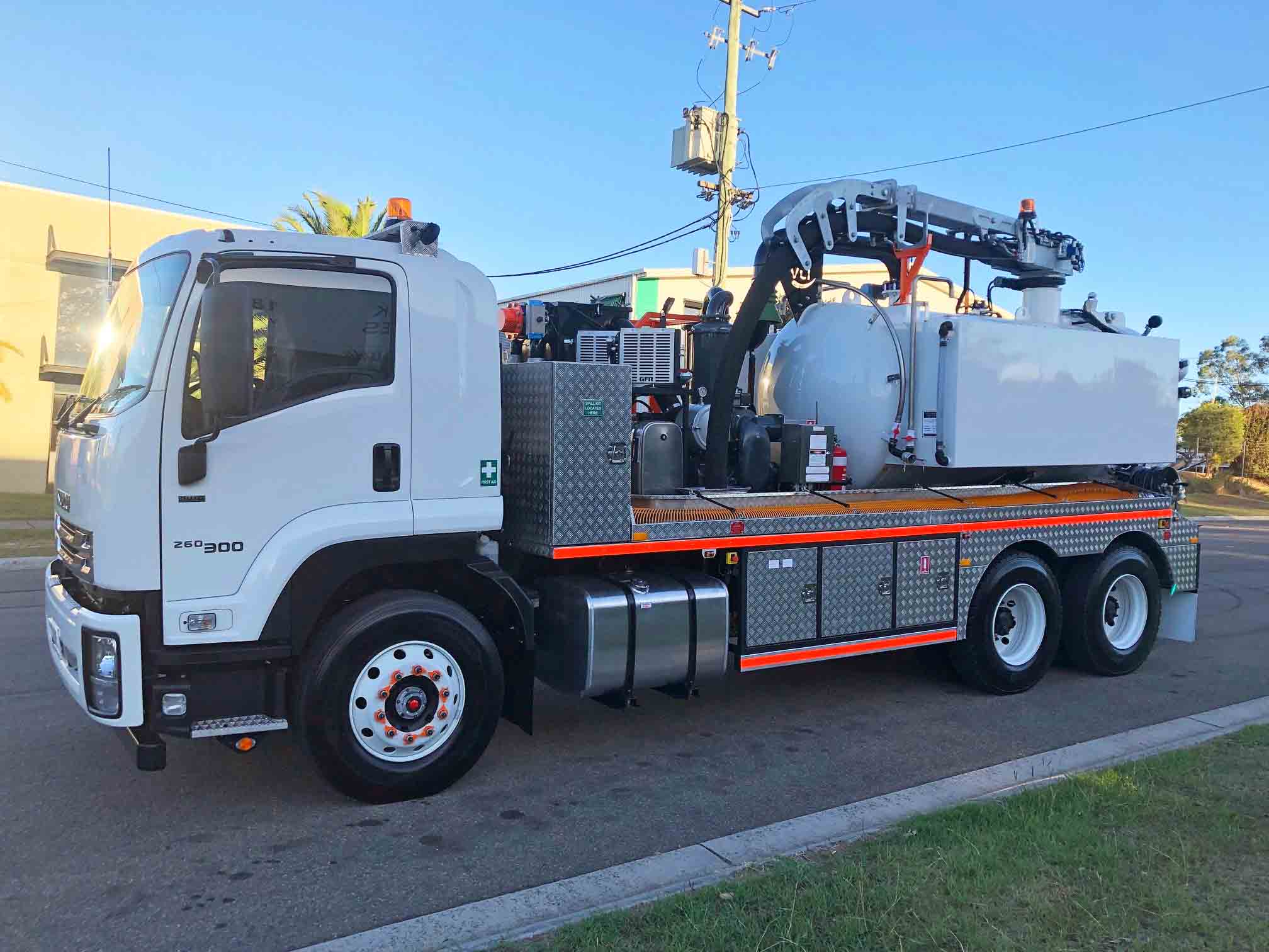 vac truck for rent